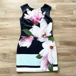 Ted Baker Dalyn Shift Dress Magnolia Stripe Print